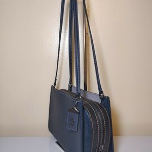 064900d624 Coach Bags - Coach 1941 Rogue Shoulder Bag Midnight Navy 28484